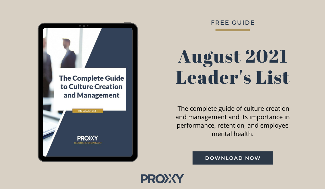 Culture Creation and Management